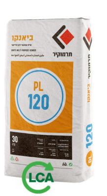 תרמוקיר PL 120 - טיח צמנטי לבן מיישר