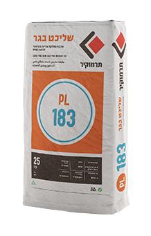 תרמוקיר PL 183 - שכבת החלקה עדינה במיוחד לבטון וטיח