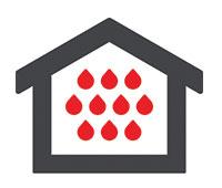 """מערכת ל""""חדרים רטובים"""" -קירות לוחות גבס אריחי קרמיקה ולוחות פסיפס -"""