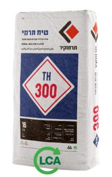 תרמוקיר 300 TH - טיח לבידוד מבנים מחום וקור